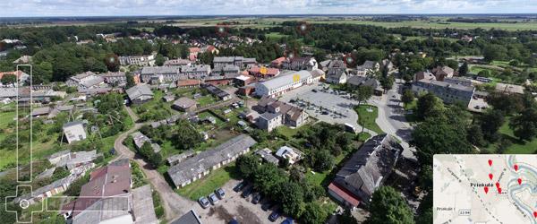 Klaipėdos panorama - Virtualus turas Klaipėda